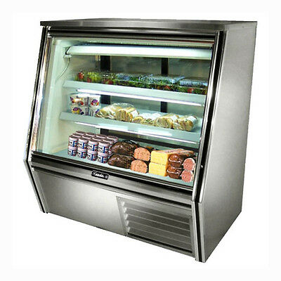 Leader Hdl48 48x34x53-inch Refrigerated Deli Case Self-contained Gravity Coil
