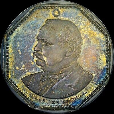 Click now to see the BUY IT NOW Price! FINEST & ONLY 1888 GROVER CLEVELAND NGC MS65