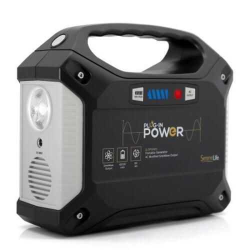 Portable Power Generator - Rechargeable Battery Pack Power Supply 42,000mAh