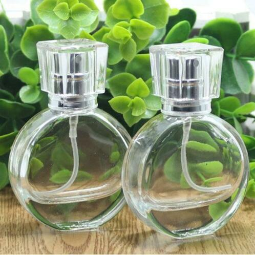 1pc Empty Refillable Perfume Spray Bottle Glass Fragrance...