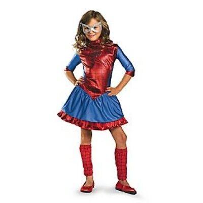 Mädchen Kind Frauen Marvel Spiderman Deluxe Spidergirl Kostüm