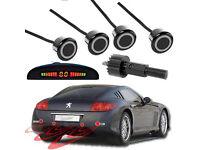 4 Parking Sensors LED Display Car Reverse Radar System Sound Alert !!!!