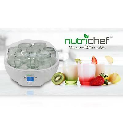 Nutrichef Pkym26 Digital Electronic Yogurt Maker