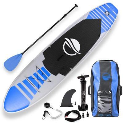 Serene-Life 10.5 FT Inflatable Stand Up Paddle Board (SUP) W/ Accessories