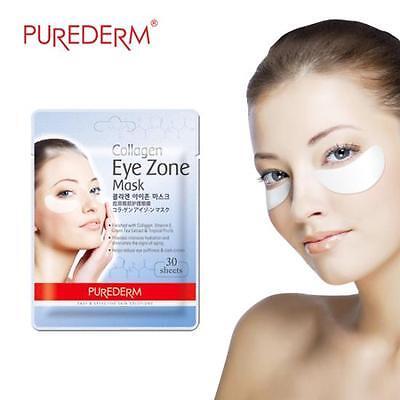 Purederm Collagen Eye Zone Mask Pack Eye Mask 30Sheet (1Pack) Korean Cosmetics