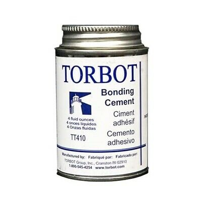 - Torbot Liquid Bonding Adhesive Cement Latex TR410 4 oz Can