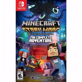 Nintendo switch : Minecraft - Story mode