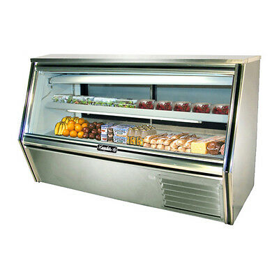 Leader Cdl72 72x34x45-inch Refrigerated Deli Case Gravity Coil Self-contained
