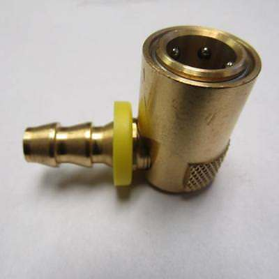 Quick-connect Brass Fitting Coupler 12 90 Coupling 58 Hose Id Barbed
