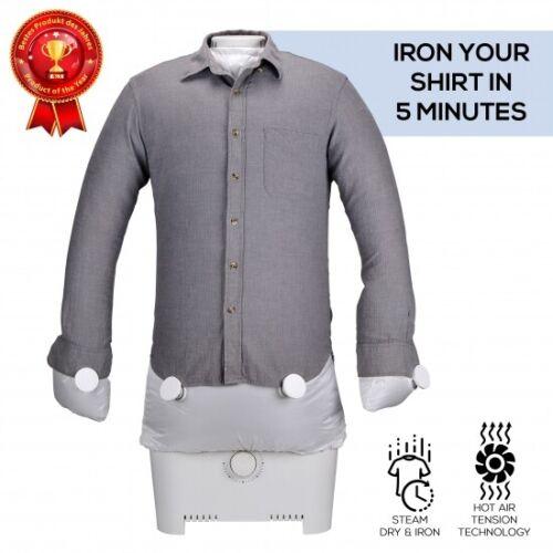 SereneLife SLIRX45 Inflatable Shirt Ironing Machine, Steam, Dry & Iron, 1400W
