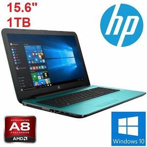"REFURB HP A8 SERIES LAPTOP PC 15.6"" - 102147415 - COMPUTER NOTEBOOK PC - 15.6"" 1TB 4GB MEMORY - WINDOWS 10 - AMD A8-7..."
