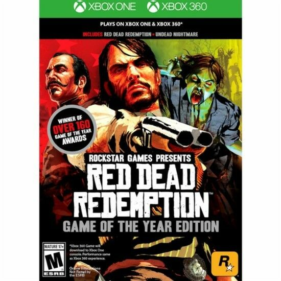 Xbox 360 Games - Red Dead Redemption: Game of the Year Edition Xbox 360 Xbox One New Ships Fast !