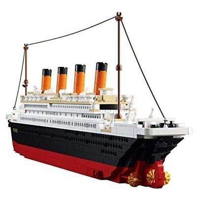 Titanic Building Blocks Ship Model Set For Kids Compatible with Lego Brand - Titanic Ship Model