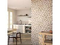 CERAMIC WALL TILE MOSAIC CARMEN CREAM