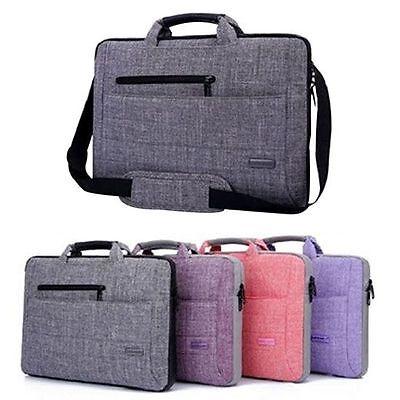 Notebook Messenger Bag Laptop Shoulder Case Handbag for Macbook Pro Dell 15 15.6