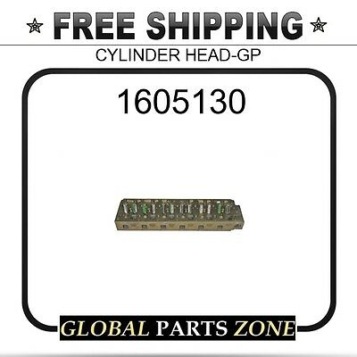 1605130 - CYLINDER HEAD-GP 10R2048 fits Caterpillar (CAT)