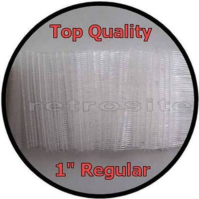 """1000 CLEAR Price Tag 1""""(1 inch) Barbs Fasteners for FINE Tagging Gun TOP QUALITY"""