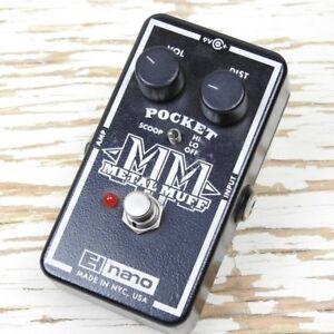 Pédale de Fuzz Electro Harmonix Metal Muff