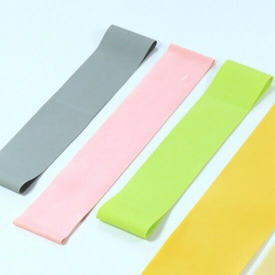 Latex Rubber Sports Fitness Run Yoga Pilates Straps Tension band 1500*150*0.4mm