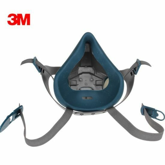 3M 6502 Rugged Comfort Half Facepiece Reusable Respirator, Size: MEDIUM Business & Industrial