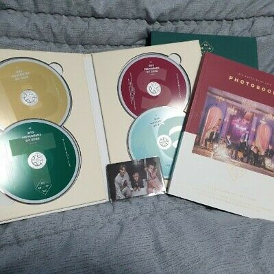 BTS The Memories of 2016 Official DVD with Photocard Wings Jimin Jin SUGA