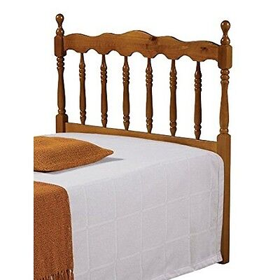 Donco Kids 704-TH TWIN SPINDLE HEADBOARD HONEY