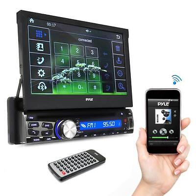 Pyle Pldt87bt 7 Inch Bluetooth Headunit Receiver In Dash
