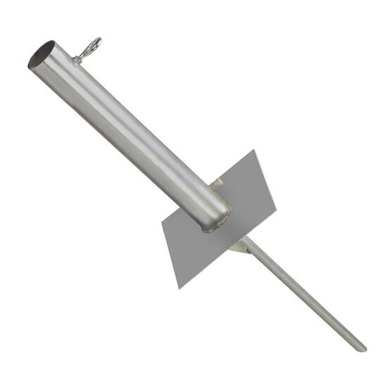 """Easy Up EZ TS-50 Free Standing Antenna Mast Ground Mount Masts Up To 2-1/4"""" Inch"""