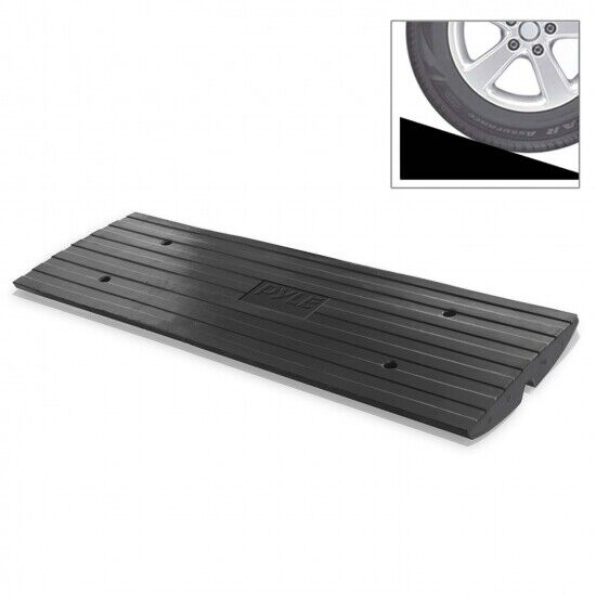 Pyle PCRBDR24 Professional extendable Vehicle curb ramp for