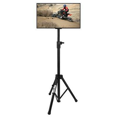 Portable Tripod TV Stand - Television LCD Flat Panel Monitor Mount (Up to 32