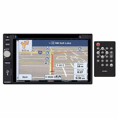 Jensen VX6628 Double DIN Bluetooth Touch Navigation In-Dash Car Stereo Receiver