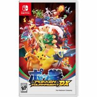 Pokken Tournament DX for switch