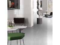 PORCELAIN FLOOR TILE SMART LUX 60 WHITE