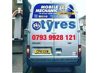 Mobile Tyres 24/7 & Locking Wheel Nut Removal