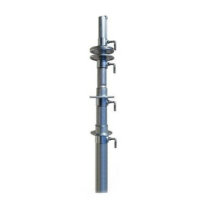 30' ft Telescoping Antenna Mast Push Up Pole for TV WiFi HAM Easy Up TM-40-UPS
