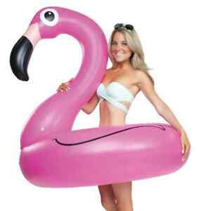 Pink Flamingo Pool Float! Over 4 Feet Wide!