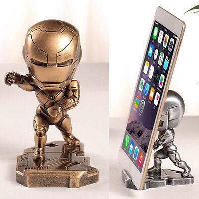 Iron Man Dekorationen (Iron Man MK46 Auto Wohnen Mini Deko-figuren toys Cell PhoneIphone 7 plus Stand)