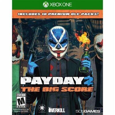 Payday 2  The Big Score  Microsoft Xbox One  2016