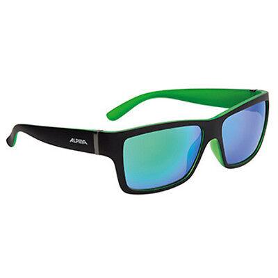 Alpina Lifestyle Fahrradbrille Sportbrille KACEY black matt-green