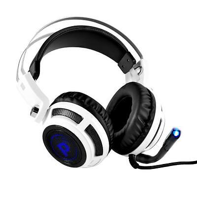 Pyle PGPHONE80 7.1 Gaming Headset Headphones W/ Built-in Microphone USB