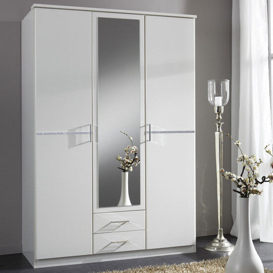 1/ BRAND NEW 3 DOOR 2 DRAW WARDROBES 5 ONLY LEFT FROM HUGE CONTRACT BRAND NEW 77433AE