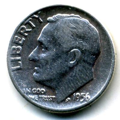 Key date 1956-P Franklin Half Dollar Brilliant Uncirculated BU