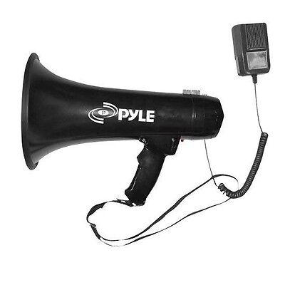 Vixen Horns Loud Waterproof Megaphone/Bullhorn/PA with Siren and Flashlight Navy VXM2390N Motorcycle & ATV