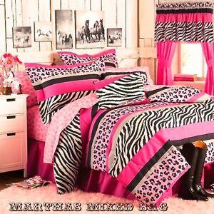 Girls Zebra Bedding Ebay