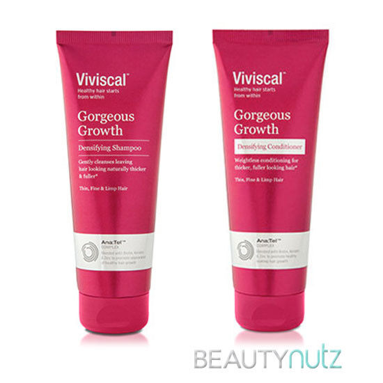 Viviscal Gorgeous Growth Densifying Shampoo & Conditioner 8.