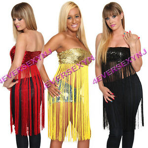stripper fringe tops
