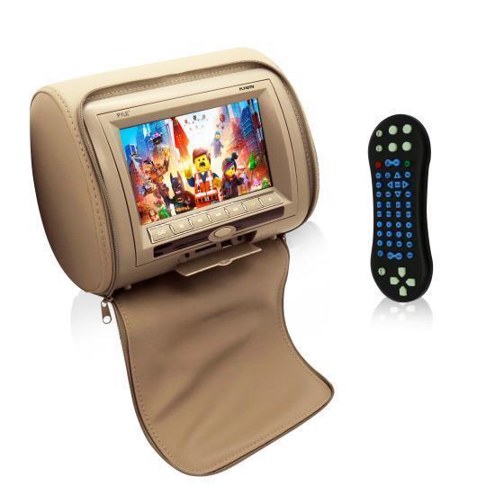 "Pyle PL74DTN 7"" Hi-Res Headrest Video Display Monitor Built-"