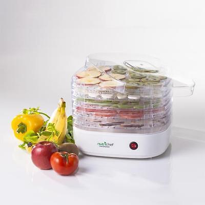 NEW Nutrichef Electric Countertop Food Dehydrator Pkfd06