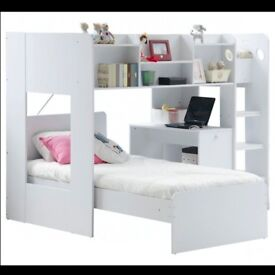 Modern bunk bed , 9months old was £449 want £200 for quick sale like brand new , stunning bed.