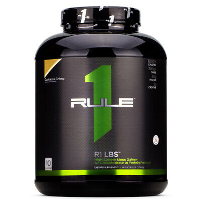 R1 Rule 1 LBS 6 Lbs High Calorie Protein Powder Mass Gainer Like ON Serious Mass High Protein Gainer